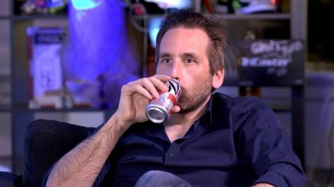 "The face of Bioshock, Ken Levine. In an interview with Giant Bomb, Levine reveals his method involved in writing for games. He discusses that he is not interested in creating ""positive characters,"" but rather interesting ones."
