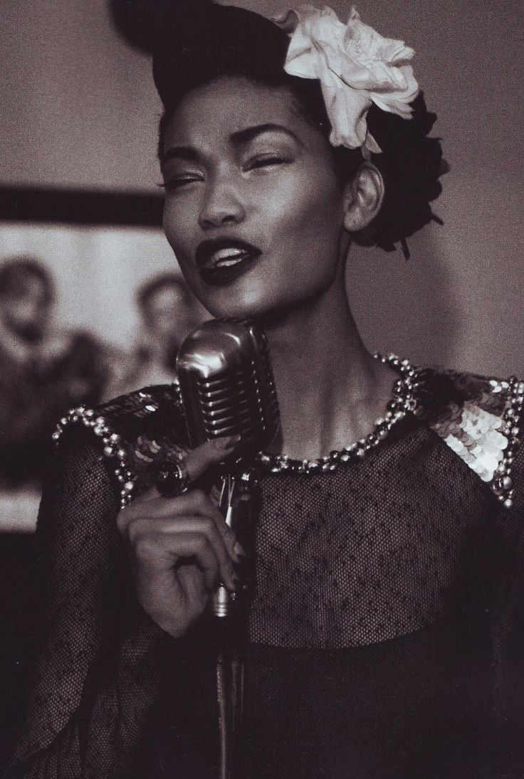 """Chanel Iman & Arlenis Sosa in """"Fashion..and all that Jazz"""" by Peter Lindbergh for Harper's Bazaar September 2009"""