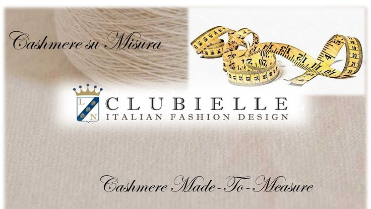 """Dear Clubielle friends, The designer Lorella Nobili launches the collection """"Cashmere Made To Measure"""". By the boutique at via Cusani 9 in center of Milan, You can find a selection of design that You can create on """"Made to Measure"""". What are you waiting for? """"Enjoy the best of the nature, join Clubielle"""""""