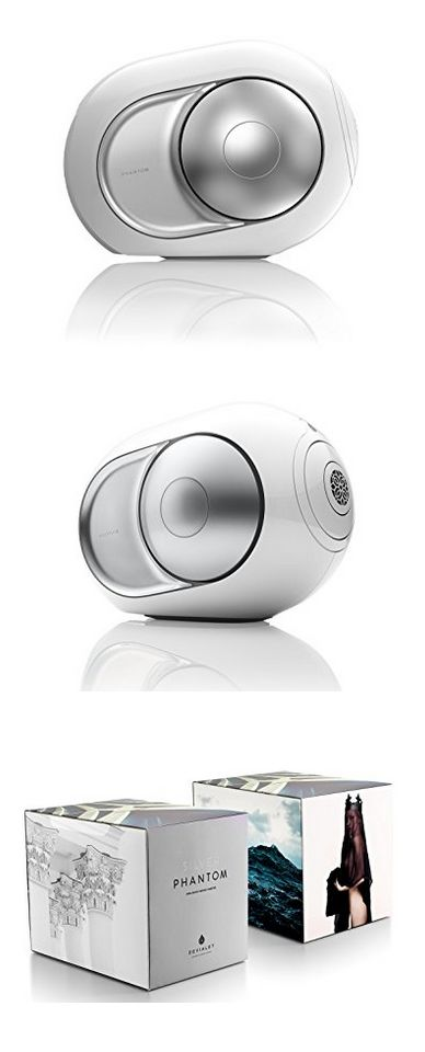 Devialet Silver Phantom - High-end wireless speaker - 3000 Watts - 105 dB #phanton #speaker #bluetooth #loud #lights #volume #portable #ball #device #connect #led #speakers #button #sounds #carry #convenient #colorful #hear #connection #fashion #style #shopping #usb #electronic #SmartWatch   #gifts