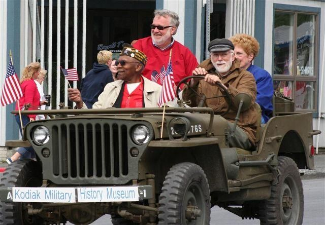 Kodiak Military History, 1945 Willys MB Jeep