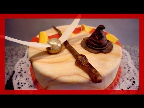 Harry Potter Torte selber machen - Harry Potter Motivtorte herstellen - ...