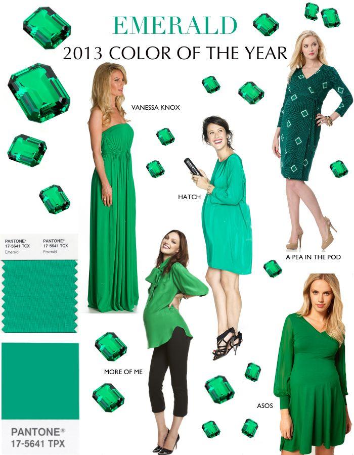 smaragdová zelená