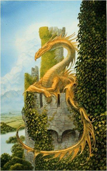 Иллюстрации к произведениям Толкиена в стиле Фентези-арт (142 работ)