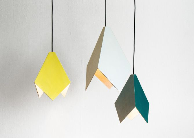 TRIPLA PENDANT BIRCH 2013 Design Milla Vaahtera Style by Hanna Anonen Made to order in Helsinki in collaboration with Ilmo Ahlberg Big 390 X 537mm Small 260 X 357mm