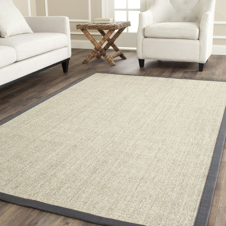 <li>Innately soft and durable rug will add a warm feel to any home decor</li> <li>Floor rug is hand-woven of natural fibers</li> <li>Serenity area rug features a casual motif</li>