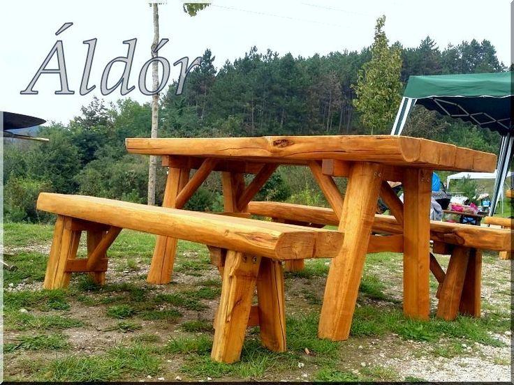 Akác kerti bútor