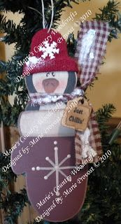 Marie's Country Woodcrafts: E-patterns for ornaments