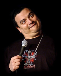 carlos mencia - No wonder he steals jokes, his original jokes are so shitty!!!