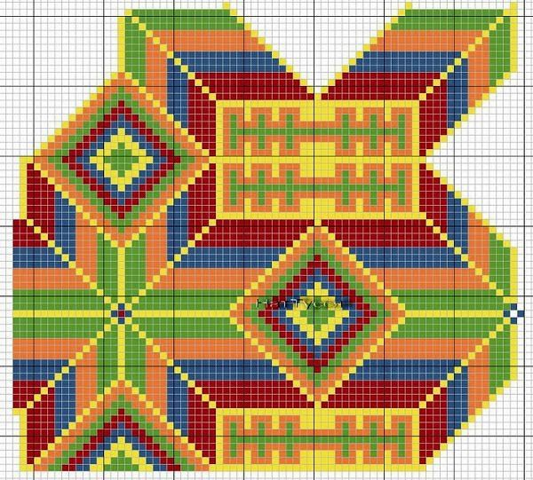 Crochet Bag Chart : ... bags and tapestry crochet on Pinterest Cartagena, Bags and Crochet