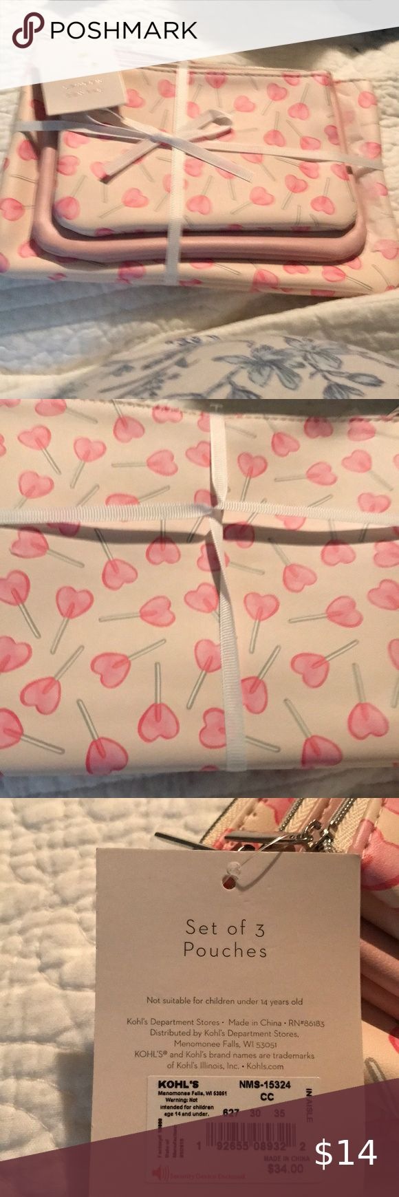 Lauren Conrad Cosmetic bags in 2020 Cosmetic bag, Lauren