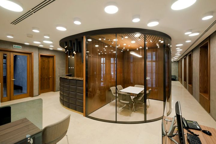 Russian Mortgage Bank Office by PANACOM, Moscow – Russia