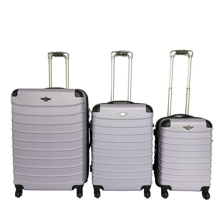 "PENGSHENG New 3 Piece Luggage Set 20""/24""/28"" ABS Large Suitcase (4 colors)"
