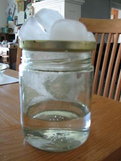 Science Matters: Modeling the Water Cycle (experiment...seeing the water cycle in action!)