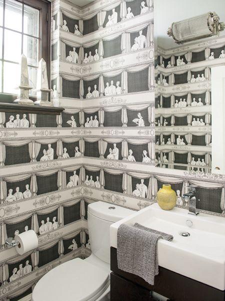 17 meilleures id es propos de papier peint de petite salle de bains sur pinterest salle de. Black Bedroom Furniture Sets. Home Design Ideas