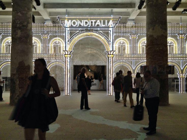 Monditalia at Corderie dell'Arsenale - 14.International Architecture Exhibition in #venice