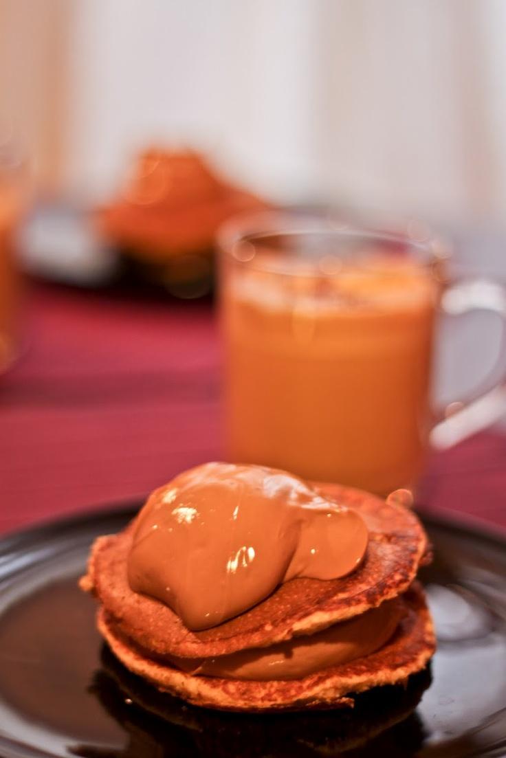 Cinnamon Dukan Pancakes on my foodblog www.theforkfather.com