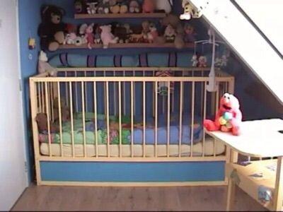 Adult baby crib