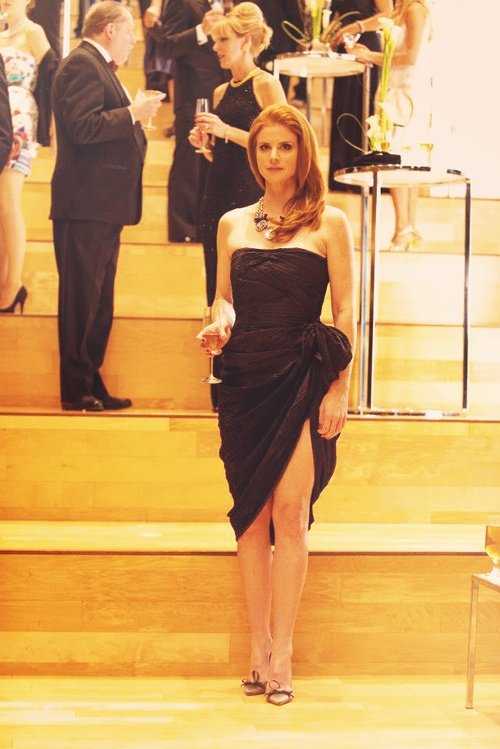 NO. (Donna Paulsen) BTS of Suits 2.16 from Suits USA's facebook, pic edited by harrietspecter on Tumblr.