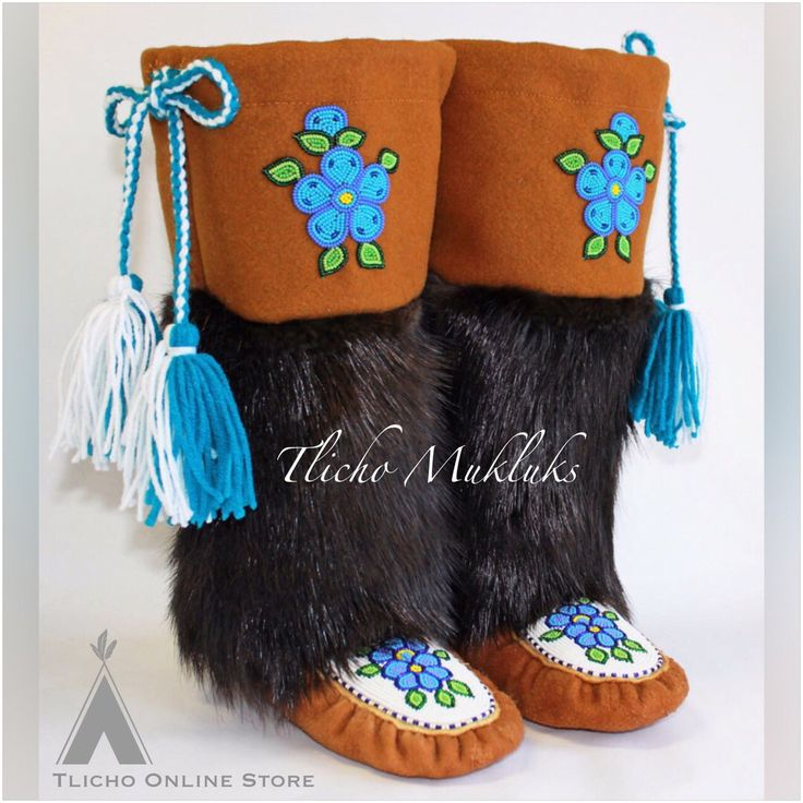 Is it too early to say #merrychristmas. We now have #Tlicho #moccasin #mukluks now available on http://onlinestore.tlicho.ca