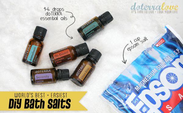 Valentine's Day Project. Homemade Bath Salts :) DIY