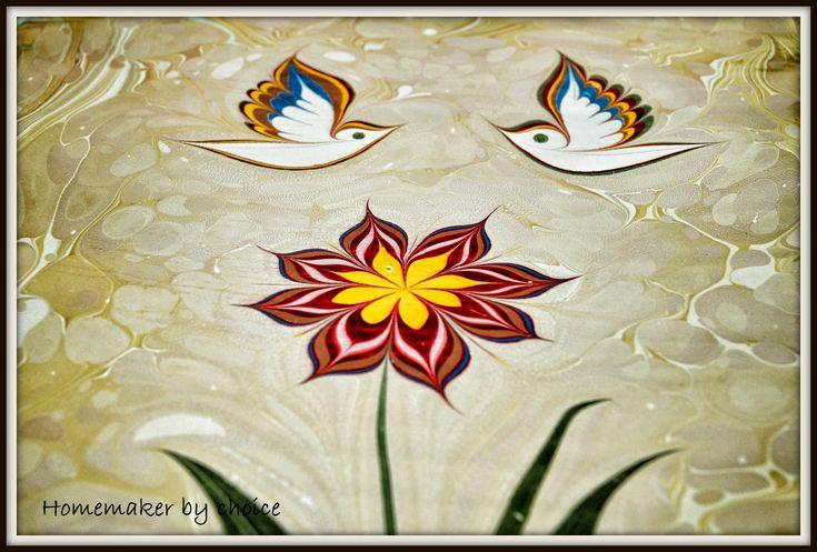 Ebru Art | Home Maker By Choice