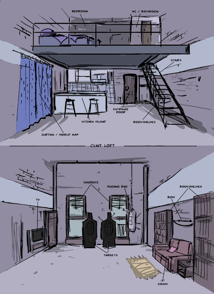 Bless Clint Barton S Aesthetic His Entire Apartment Is In Various Shades Of Lavender Periwinkle And Mauve