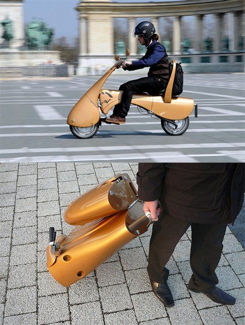 Moveo Folding Electric Scooter