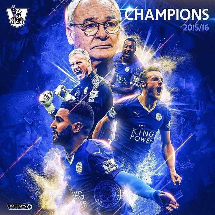 """Premier League on Instagram: """"#Congratulations #Leicester The dream is a reality"""""""