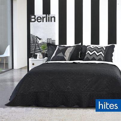 Anímate a mezclar el blanco y negro, estos le darán a tu dormitorio un toque sofisticado y moderno.
