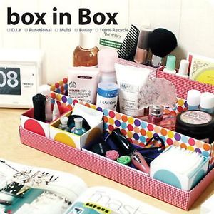 makeup organizer diy | Multi Function Makeup Perfume Organizer DIY Storage Box | eBay