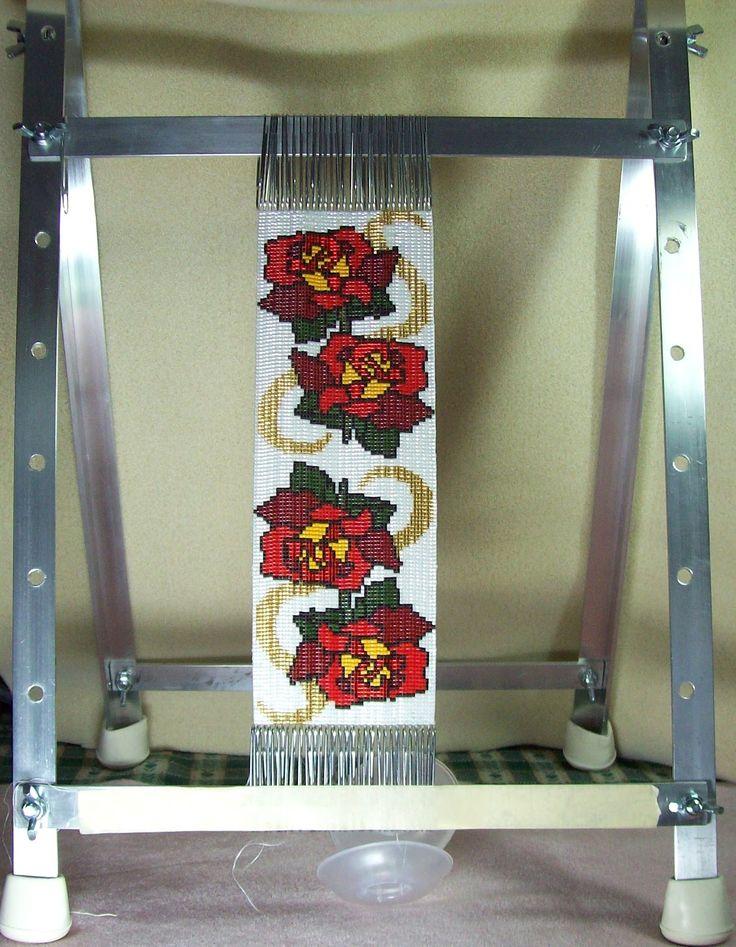 how to make a homemade beading loom