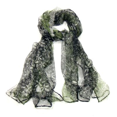 foulard mousseline soie vert  http://www.mesecharpes.com/foulard/foulard-soie/foulard-en-mousseline-de-soie-tie-and-dye-vert.html
