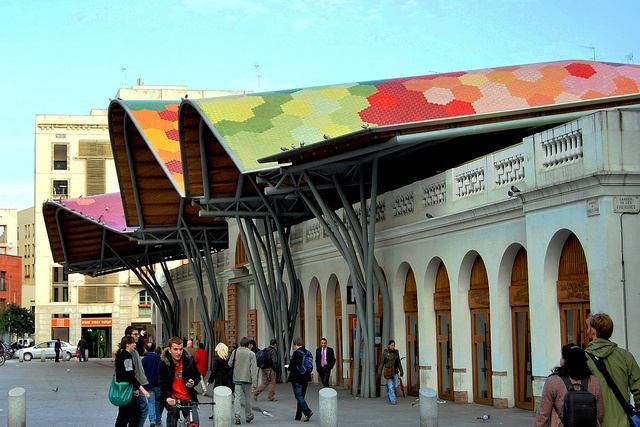 Mercado de Santa Caterina BCN La Ribera   Barcelona   Enric Miralles y Benedetta Tagliabue Arquitectes Associats