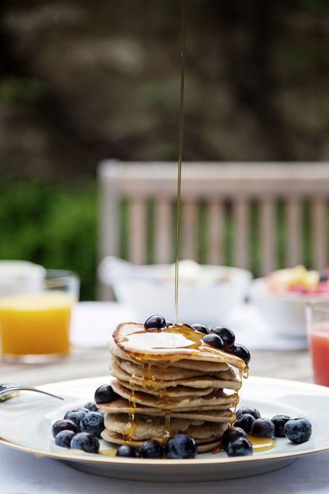 Blueberry-pancake-Old-Parsonage-Hotel
