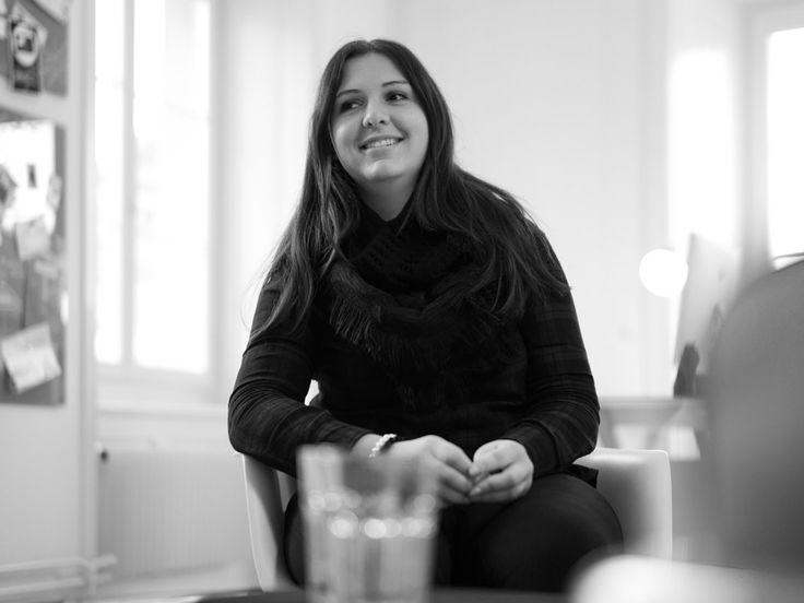 Schillert neu für uns: Graphic Designerin Melissa Miesch.