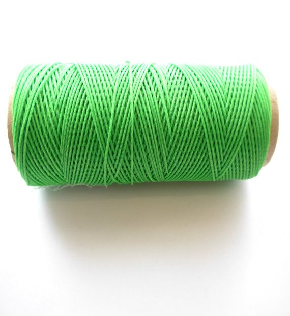 90m Knitted waxed thread 1mm/reel 90m by exantra on Etsy