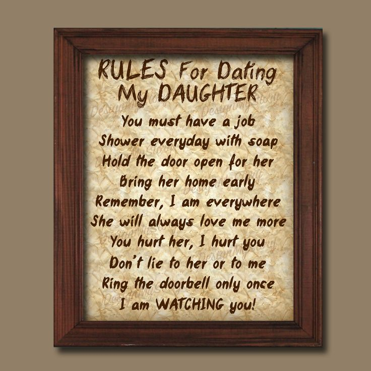 Christian rules of dating