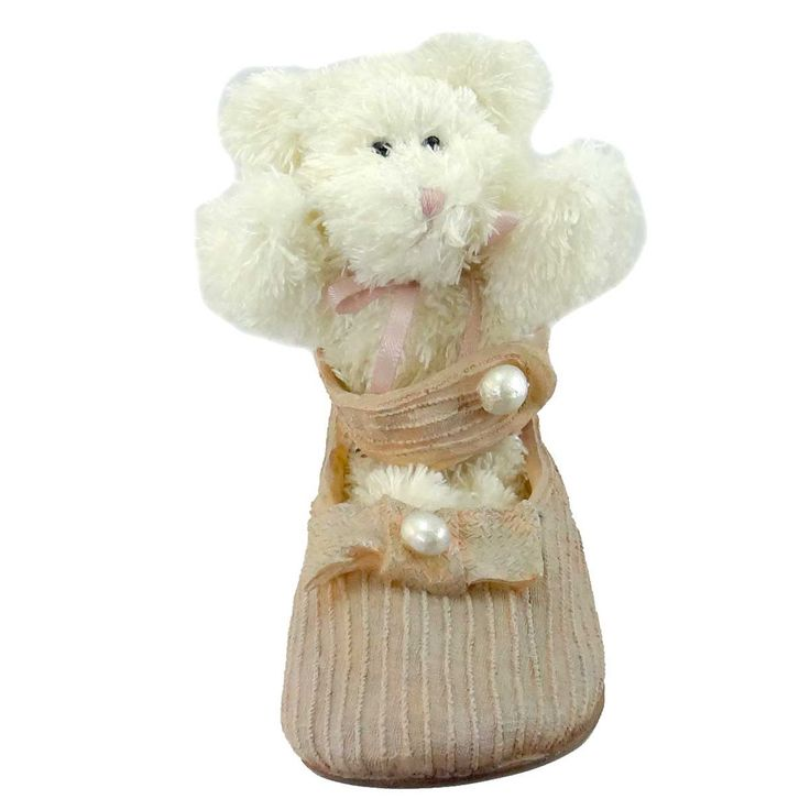 Boyds Bears Resin Missy Dress Up Shoe Figurine
