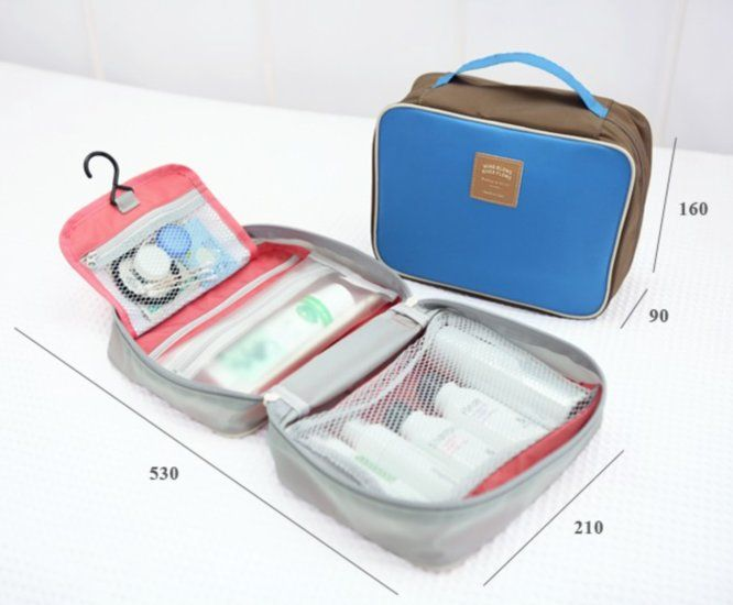 $30.36 Wind Blows Toiletry Bag | Mochi Things
