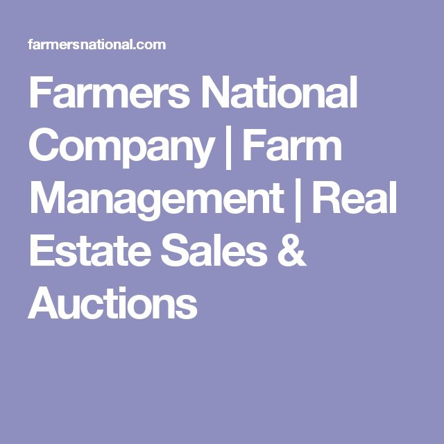 Farmers National Company Farm Management Real Estate Sales