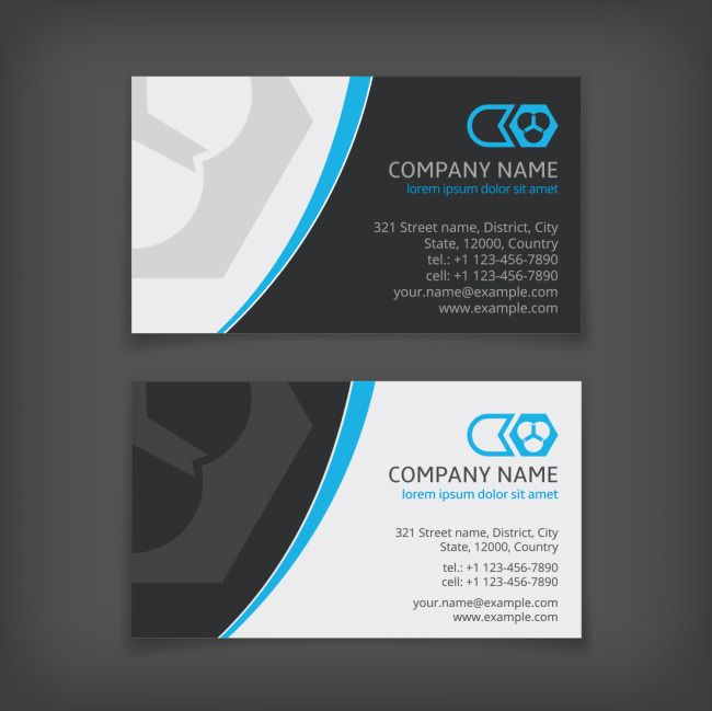 Two color business cards heypik pinterest business cards two color business cards reheart