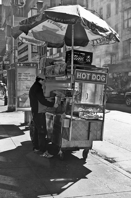 Nyc Hotdog Stand B By Chris Hannah Via Flickr Memoirs