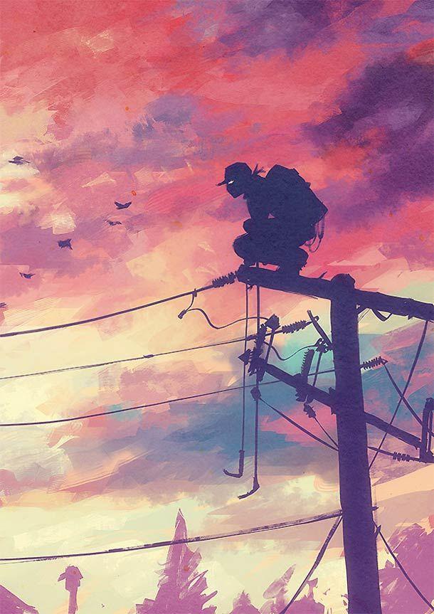 Heat Town – Illustration par Sylvain Sarrailh