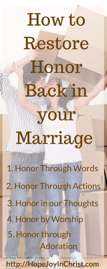 how to restore honor and dignity your relationship