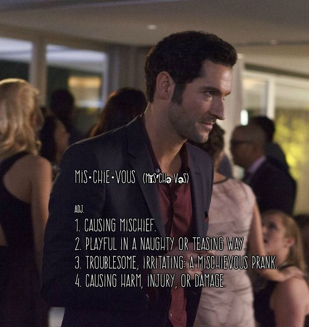 1000 Images About Lucifer Fox Tv Show On Pinterest: Like The Devil? Exactly.
