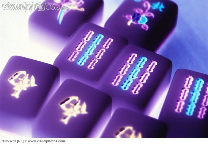 Purple Mahjong