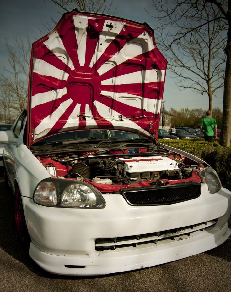 Rising Sun Under Hood Mx 5 Projects Pinterest Search