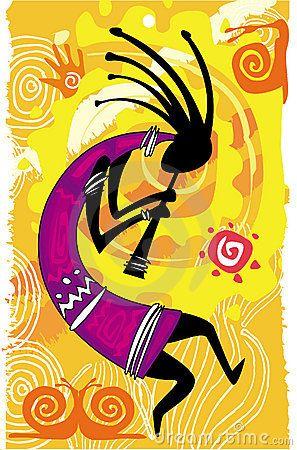 Танцующая фигура. Кокопелли