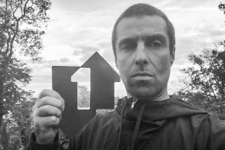 "Liam Gallagher with a Number 1 album  In Oct 2017 with his debut solo album ""As You Were"""